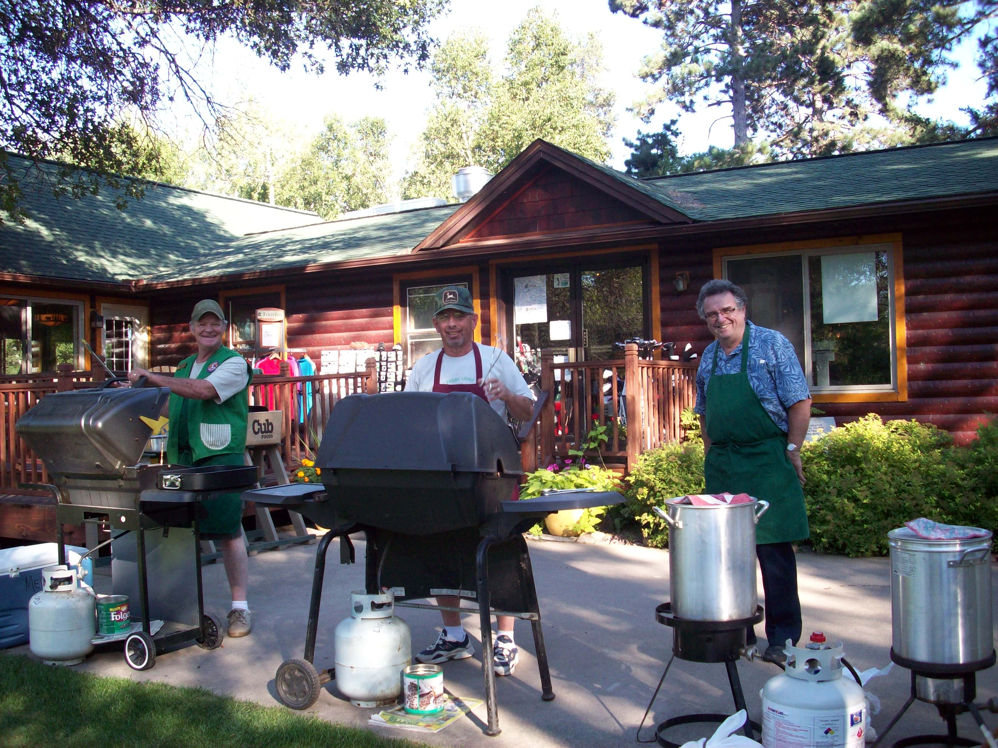 Cooking for Golfers